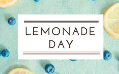Lemonade Day – June 10, 2017