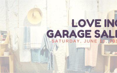 2nd Annual Love Inc Garage Sale – June 10, 2017